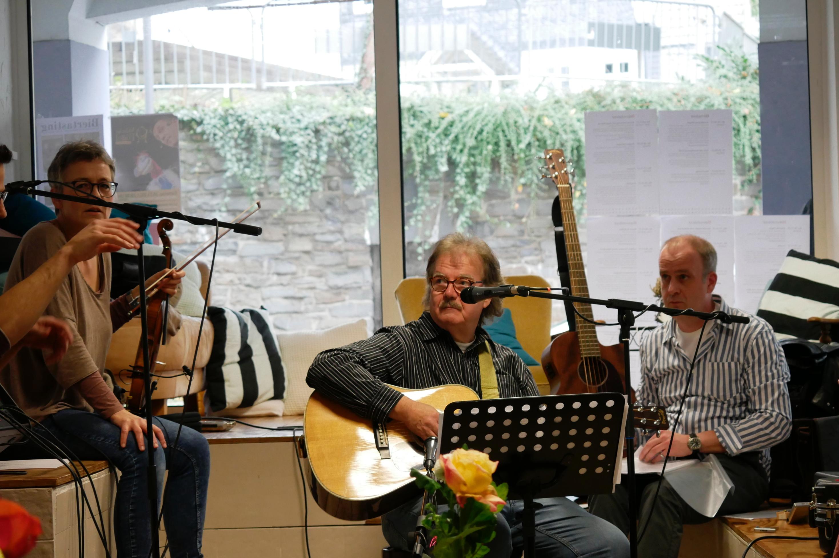 Musiker-Trio