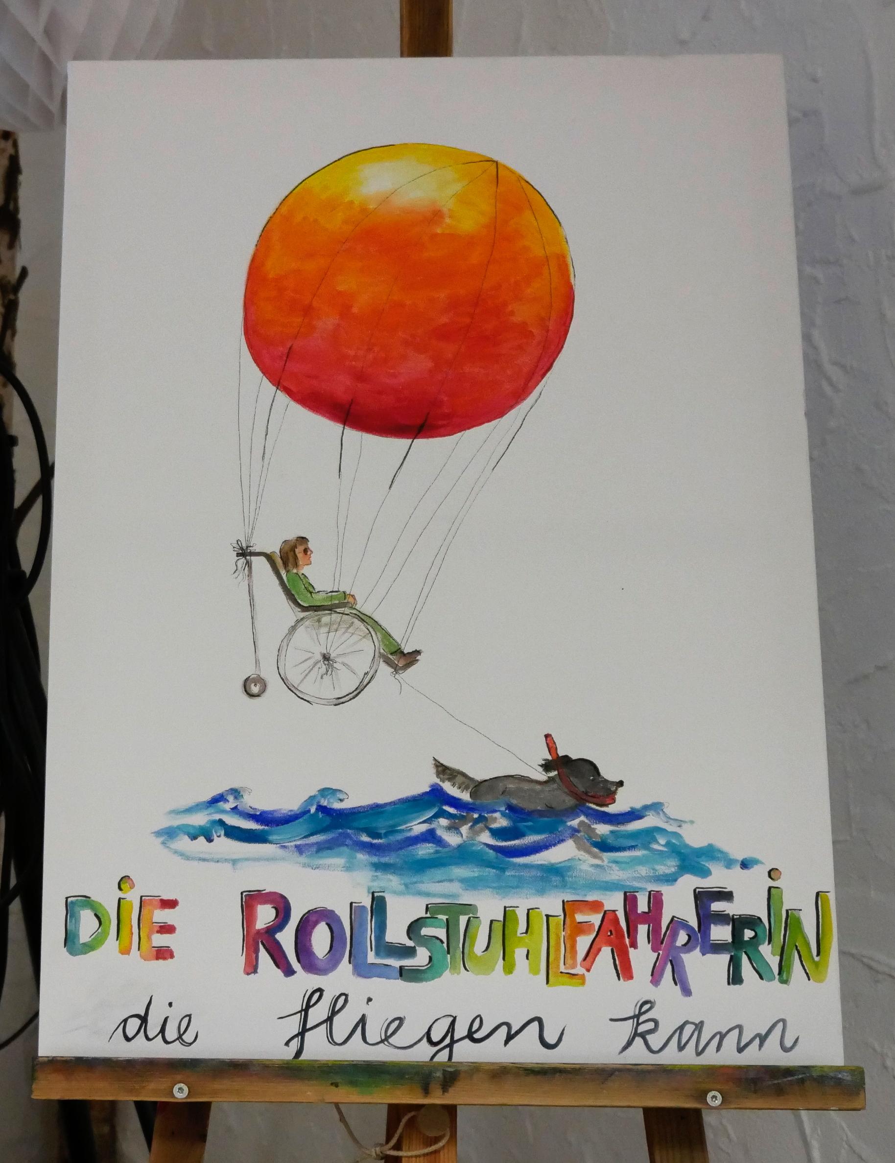die Rollstuhlfahrerin, die fliegen kann